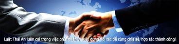 Đối tác khách hàng Công Ty Luật Thái An