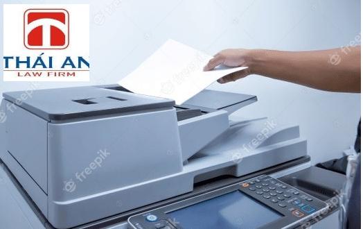 hộ kinh doanh in ấn, sao chép, photocopy